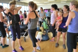 First Week of New Boot Camp Session – STRONG Mommies!